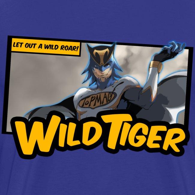 Tiger & Bunny - Wild Tiger Panel Tee