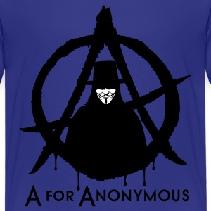 A for Anonymous 2c Kids' Shirts - Kids' Premium T-Shirt