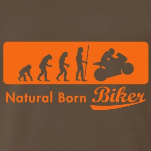 evolution_biker T-Shirts - Men's Premium T-Shirt