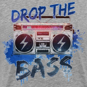 drop the bass T-Shirts - Men's Premium T-Shirt