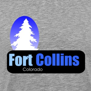 fort collins Colorado t shirt truck stop novelty - Men's Premium T-Shirt