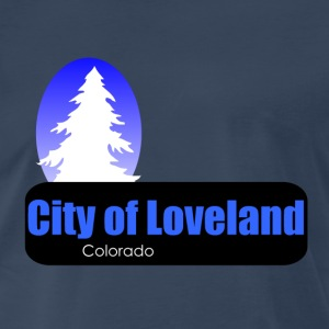 Loveland Colorado t shirt truck stop novelty - Men's Premium T-Shirt