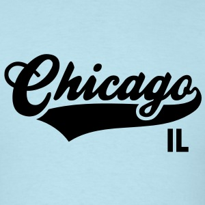 Chicago IL - Illinois Shirt BS - Men's T-Shirt