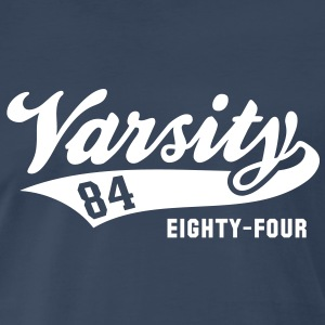 Varsity 84 EIGHTY-FOUR Birthday Shirt WN - Men's Premium T-Shirt