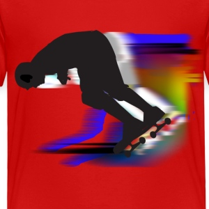 Skateboarding - Toddler Premium T-Shirt