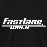 Design ~ Fast Lane Daily Logo on Heavyweight T