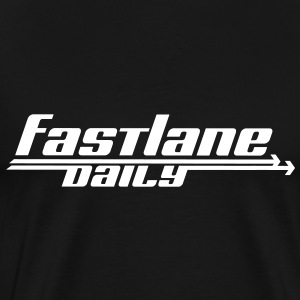 Fast Lane Daily logo T-Shirts - Men's Premium T-Shirt