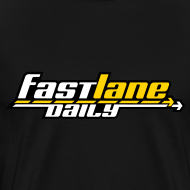 Design ~ Fast Lane Daily 3-color Logo on Heavyweight T