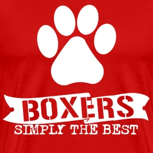 Boxers simply the Best - Men's Premium T-Shirt