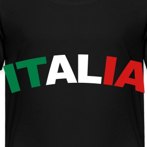 Italia Toddler Shirts - Toddler Premium T-Shirt