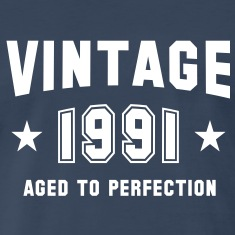 VINTAGE 1991 - Birthday T-Shirt WN