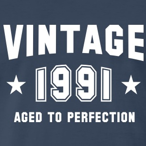 VINTAGE 1991 - Birthday T-Shirt WN - Men's Premium T-Shirt