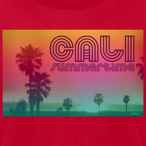 california summertime T-Shirts - Men's T-Shirt by American Apparel