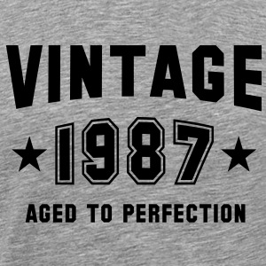 VINTAGE 1987 - Birthday T-Shirt BH - Men's Premium T-Shirt