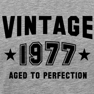 VINTAGE 1977 - Birthday T-Shirt BH - Men's Premium T-Shirt