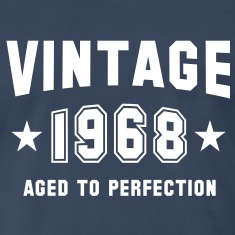 VINTAGE 1968 - Birthday T-Shirt WN