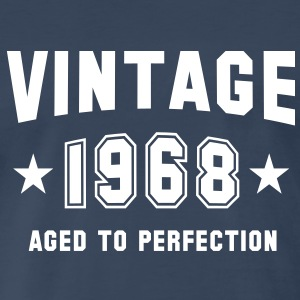 VINTAGE 1968 - Birthday T-Shirt WN - Men's Premium T-Shirt