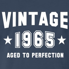 VINTAGE 1965 - Birthday T-Shirt WN