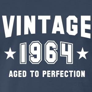 VINTAGE 1964 - Birthday T-Shirt WN - Men's Premium T-Shirt