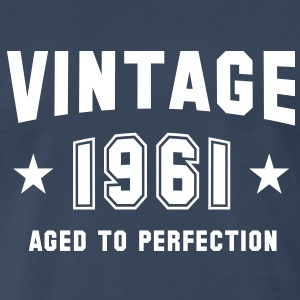 VINTAGE 1961 - Birthday T-Shirt WN - Men's Premium T-Shirt