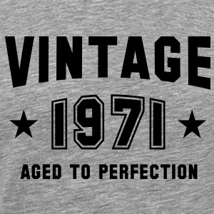 VINTAGE 1971 - Birthday T-Shirt BH - Men's Premium T-Shirt