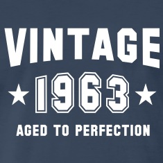 VINTAGE 1963 - Birthday T-Shirt WN