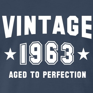 VINTAGE 1963 - Birthday T-Shirt WN - Men's Premium T-Shirt