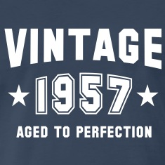 VINTAGE 1957 - Birthday T-Shirt WN