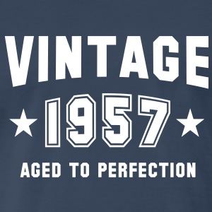 VINTAGE 1957 - Birthday T-Shirt WN - Men's Premium T-Shirt