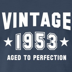 VINTAGE 1953 - Birthday T-Shirt WN