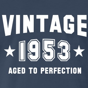 VINTAGE 1953 - Birthday T-Shirt WN - Men's Premium T-Shirt