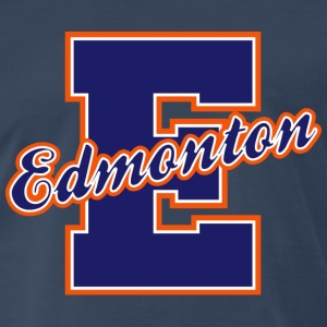 Edmonton Letter Heavyweight T-Shirt - Men's Premium T-Shirt