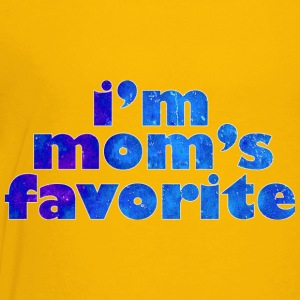I'M MOM'S FAVORITE - blue Kids' Shirts - Kids' Premium T-Shirt