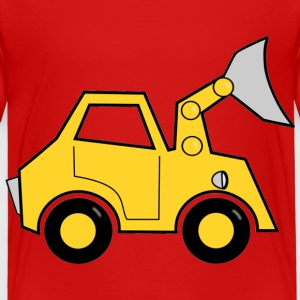 bulldozer Toddler Shirts - Toddler Premium T-Shirt