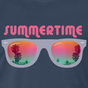 Summertime sunglasses T-Shirts - Men's Premium T-Shirt