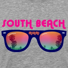 South Beach Miami sunglasses T-Shirts