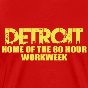 80 Hour Workweek T-Shirts - Men's Premium T-Shirt