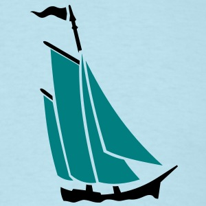 sailboat (2c) T-Shirts - Men's T-Shirt
