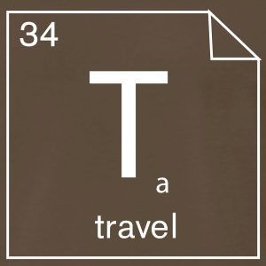 Creativity=chemistry:  34. Travel - Men's Premium T-Shirt