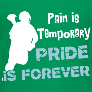 Pain Is Temporary (Lacrosse) Kids' Shirts - Kids' Premium T-Shirt