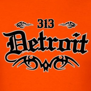 Detroit 313 Heavyweight T-Shirt - Men's T-Shirt