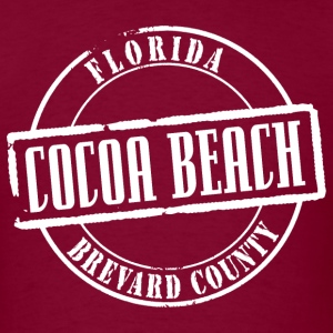 Cocoa Beach Title B Heavyweight T-Shirt - Men's T-Shirt