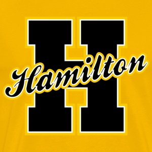 Hamilton Letter Heavyweight T-Shirt - Men's Premium T-Shirt