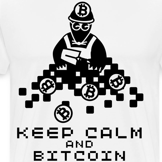 KEEP CALM AND BITCOIN