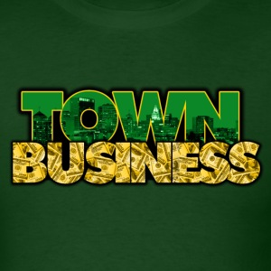 TOWN BUSINESS OAKLAND A'S EDITION - Men's T-Shirt