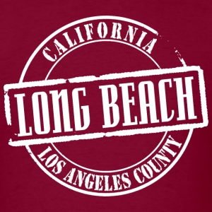 Long Beach Title B Heavyweight T-Shirt - Men's T-Shirt