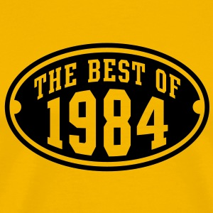 THE BEST OF 1984 Birthday Anniversary T-Shirt BY - Men's Premium T-Shirt