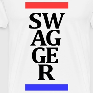 Swagger Stripes t-shirt - Men's Premium T-Shirt