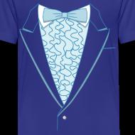 Design ~ Tuxedo T Shirt Deluxe Blue Youth