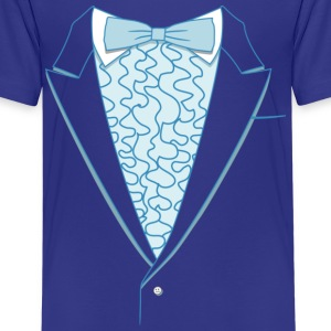 Fake Deluxe Tuxedo Blue Youth - Kids' Premium T-Shirt